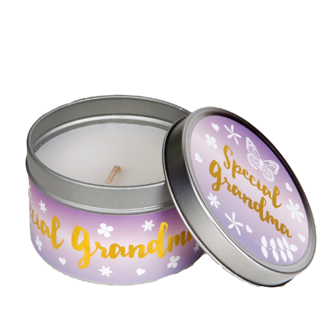 Special Grandma Candle in a Tin